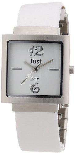 Just Watches Analog Quarz Leder 48 S4703 WH