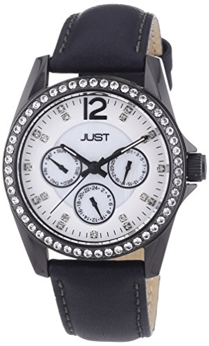 Just Watches Analog Quarz Leder 48 S8196 WH