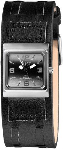 Just Watches Analog Quarz Leder 48 S9237L LBK