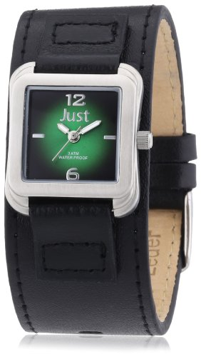 Just Watches Analog Quarz Leder 48 S9256 GR