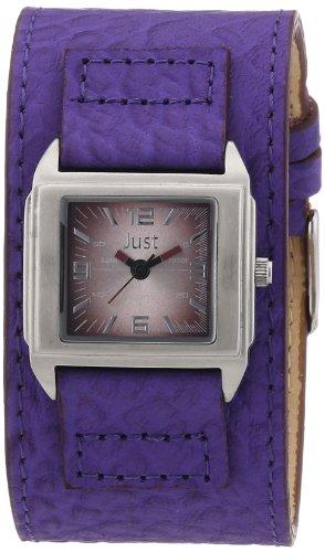 Just Watches Analog Quarz Leder 48 S9258 DBR