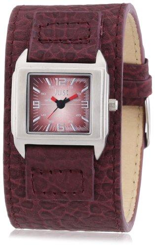 Just Watches Analog Quarz Leder 48 S9258 RD