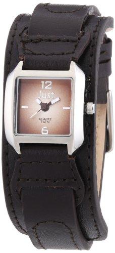 Just Watches Analog Quarz Leder 48 S9262BR