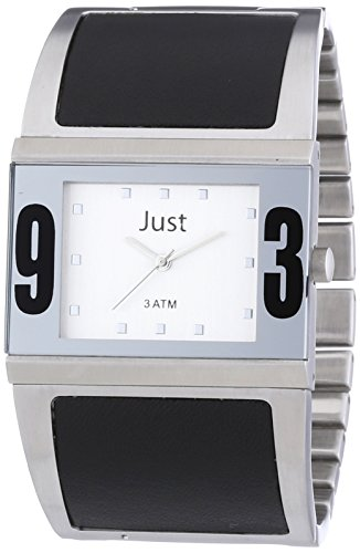 Just Watches Analog Quarz Edelstahl 48 S0015 SL