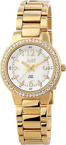 Just Watches XS Analog Quarz Edelstahl 48 S3976A GD PL