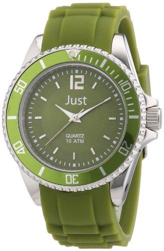 Just Watches Analog Quarz Kautschuk 48 S3857 DGR