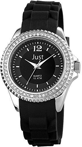Just Watches XS Analog Quarz Kautschuk 48 S3858 BK