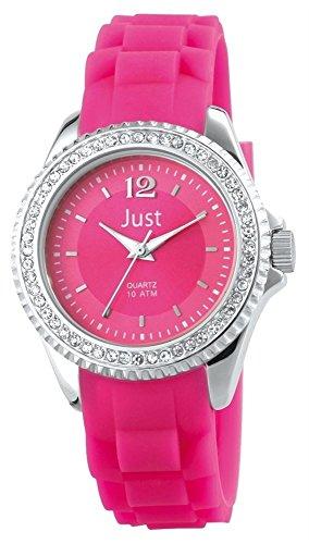 Just Watches XS Analog Quarz Kautschuk 48 S3858 RO