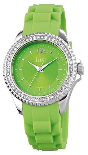 Just Watches Analog Quarz Kautschuk 48 S3859 GR
