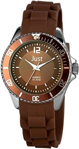 Just Watches Damen Armbanduhr XS Analog Quarz Kautschuk 48 S3861 BR