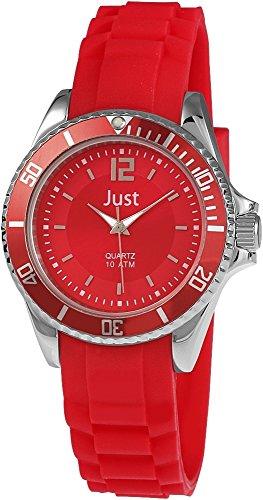 Just Watches XS Analog Quarz Kautschuk 48 S3861 RD