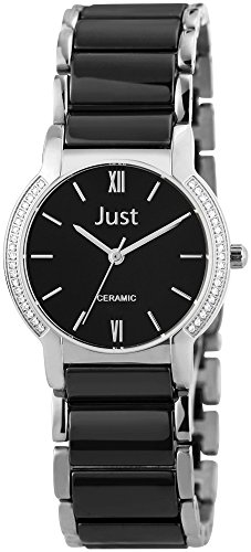 Just Watches XS Analog Quarz Keramik 48 S8351L BK