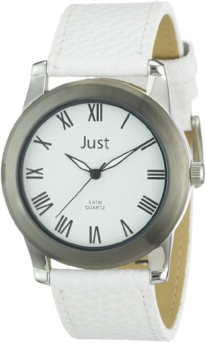Just Watches XL Analog Leder 48 S10122 wh