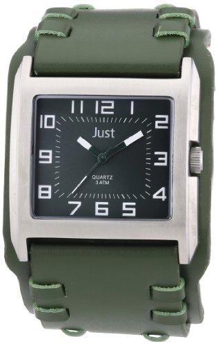 Just Watches Analog Quarz Leder 48 S8981 GR