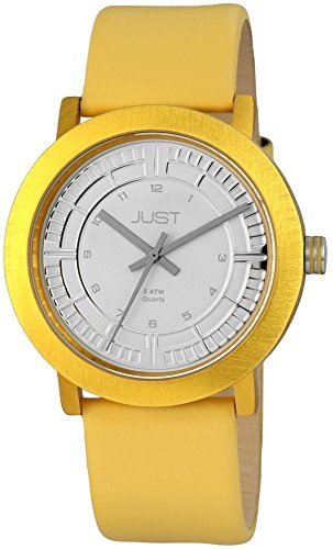 Just Watches XL Analog Quarz Leder 48 S9627 YL