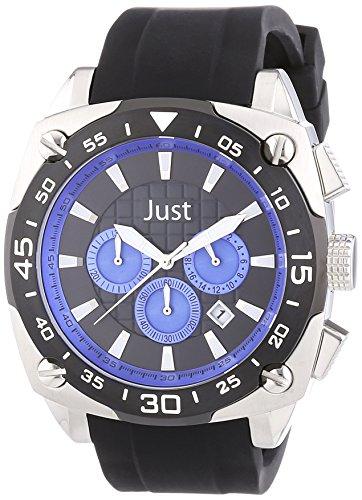 Just Watches XL Analog Quarz Kautschuk 48 STG2373 DBL