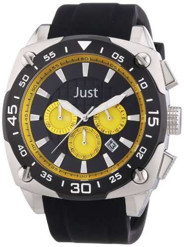 Just Watches XL Analog Quarz Kautschuk 48 STG2373 YL