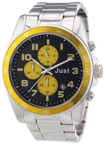 Just Watches Unisex Armbanduhr Analog Quarz Edelstahl 48 S1230 YL