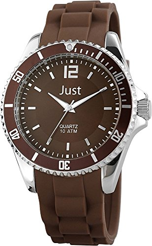 Just Watches Unisex Armbanduhr Analog Quarz Kautschuk 48 S3862 BR