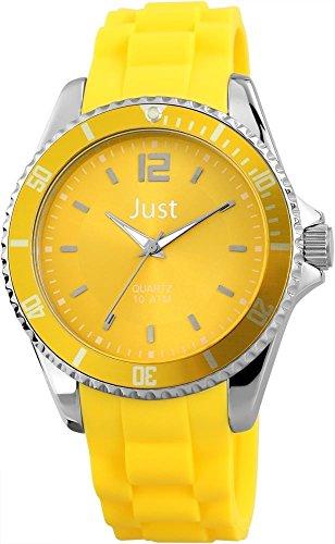 Just Watches Unisex Armbanduhr Analog Quarz Kautschuk 48 S3862 YL