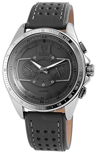 Pierrini Armbanduhr 24 Std Anzeige Stoppfunktion 50 mm 291171500003