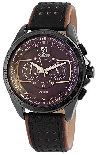 Pierrini Armbanduhr 24 Std Anzeige Stoppfunktion 50 mm 291177000003