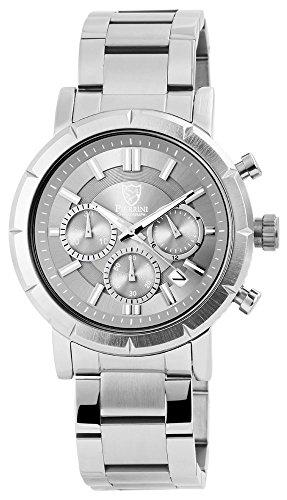 Pierrini Chronograph Edelstahl 45 mm Silber Anthrazit 291021500004