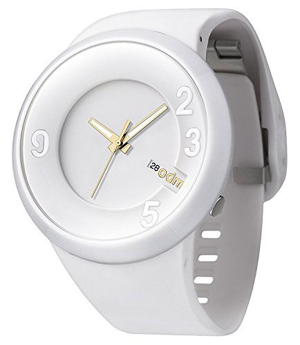 O D M DD127 02 60 Sec Series Unisex Weisse Gummiband White Dial Smart Watch