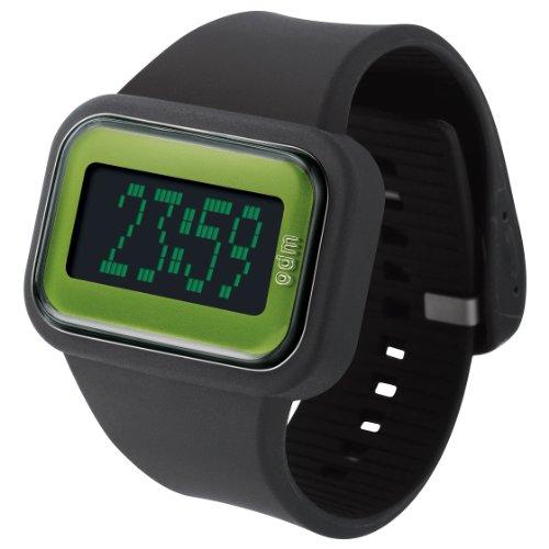 o d m Herren DD125A 4 Regenbogen Digitale Black Watch