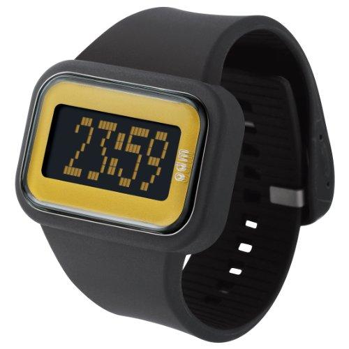 o d m Herren DD125A 5 Regenbogen Digitale Black Watch