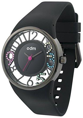 ODM Sky anbieten Stunde dd152 C 01 schwarz und Multicolor Swarovski Kristallen