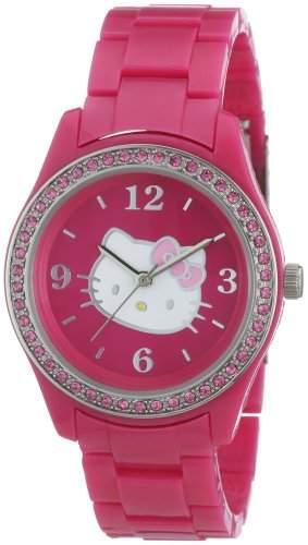 Hello Kitty Maedchen-Armbanduhr 8108