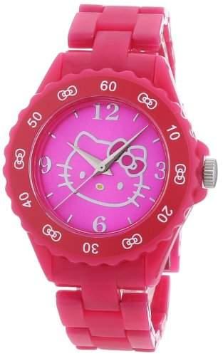 Hello Kitty Maedchen-Armbanduhr 8101