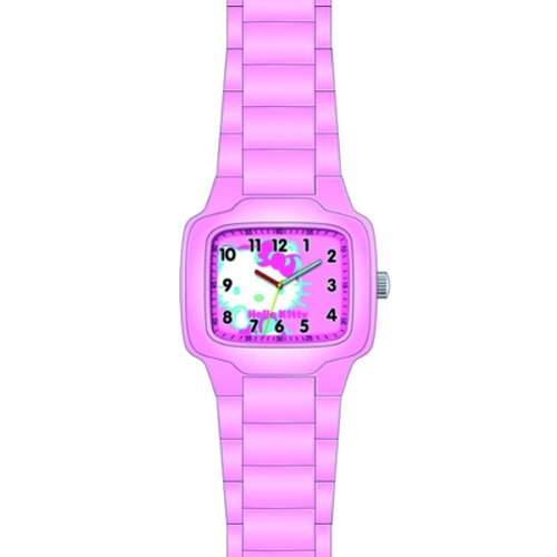 Hello Kitty Maedchen-Armbanduhr Quarz Analog 4420301