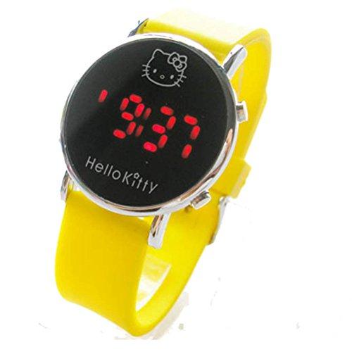 New Lovely Fashion Hello Kitty watches Girls Uhren M dchen Ladies Wrist Watch WKT KTW002H