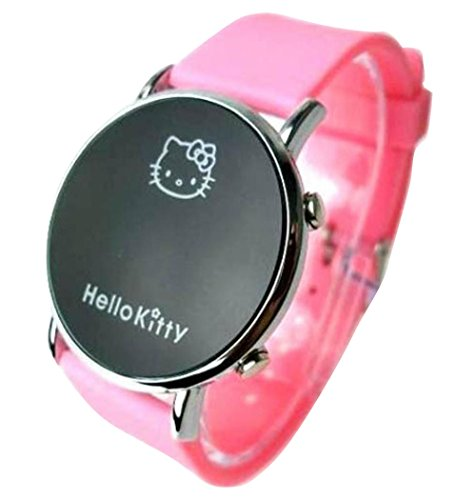 New Lovely Fashion Hello Kitty watches Girls Uhren M dchen Ladies Wrist Watch WKT KTW002P