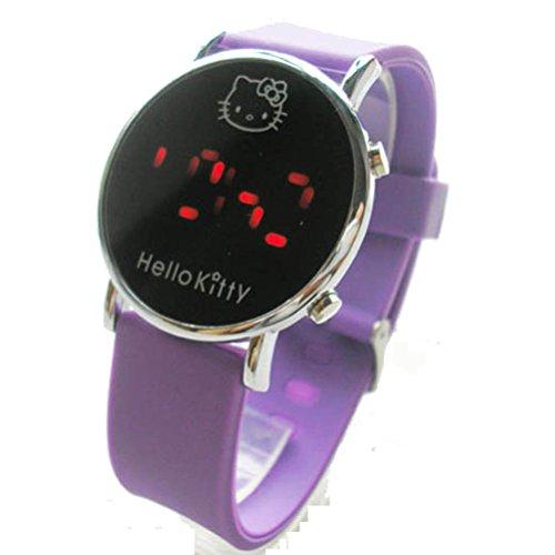 New Lovely Fashion Hello Kitty watches Girls Uhren M dchen Ladies Wrist Watch WKT KTW002Z