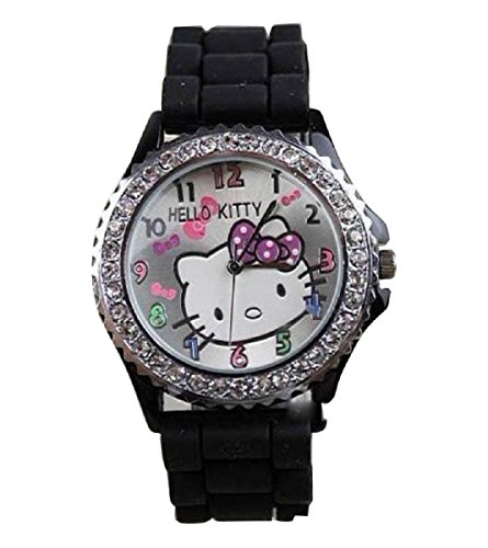 New Lovely Fashion Hello Kitty watches Girls Uhren M dchen Ladies Wrist Watch WKT KTW574B