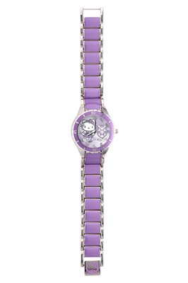 Hello Kitty Analog Edelstahl violett 24719