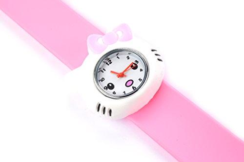 Hello Kitty Pink Slap Uhr fuer Maedchen Geschenk Uhren