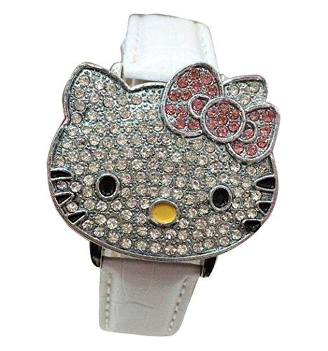 Hello Kitty watches Girls Ladies Watches leather kids Watch WKT KTW012W