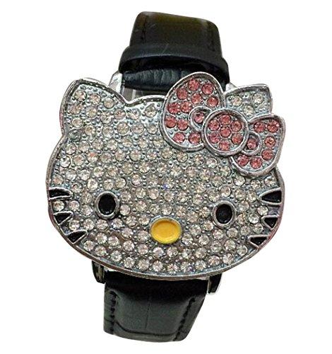 Hello Kitty watches Girls Ladies Watches leather kids Watch WKT KTW012B