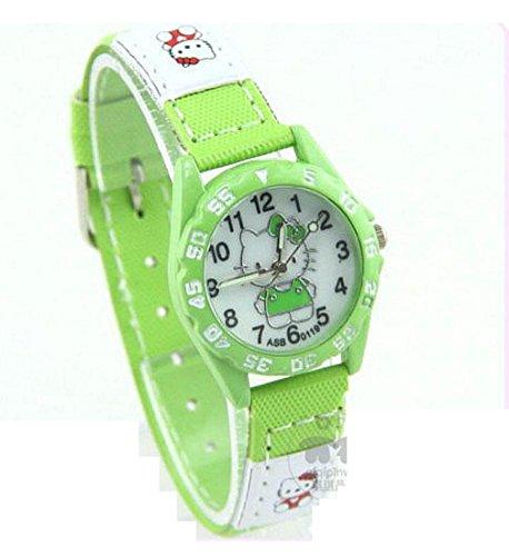 Hello Kitty watches Girls Ladies Watches leather Uhren kids Watch WKT KTW018G