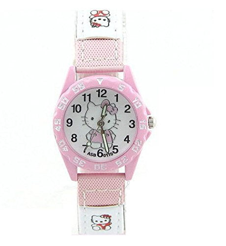 Hello Kitty watches Girls Ladies Watches leather Uhren kids Watch WKT KTW018P