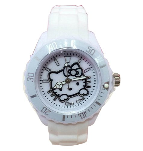 Hello Kitty watches Girls Ladies Watches Silicone Uhren kids Watch WKT KTW017W
