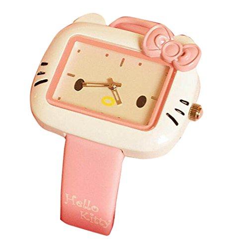 Hello Kitty watches Girls Ladies Watches Silicone kids Watch WKT KTW003P