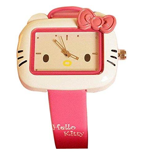 Hello Kitty watches Girls Ladies Watches Silicone kids Watch WKT KTW003M