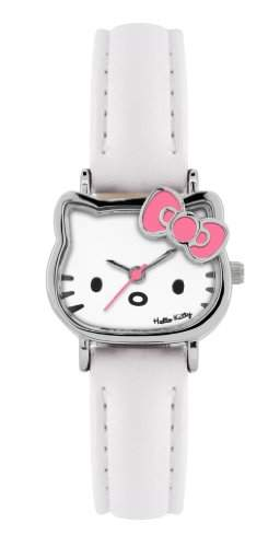 Hello Kitty Kinder-Armbanduhr Analog Kunststoff Weiss HK006