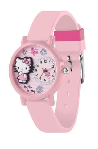 Hello Kitty Kinder-Armbanduhr Analog Kunststoff Rosa HK023