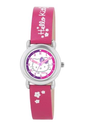 Hello Kitty Kinder-Armbanduhr Analog Kunststoff rosa HK024